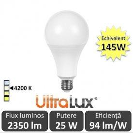 Bec LED Ultralux - LED Bulb 25W 4200K alb-neutru
