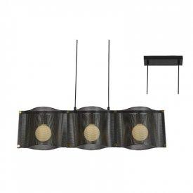 Lampa suspendata HM843P85BK 3xE27