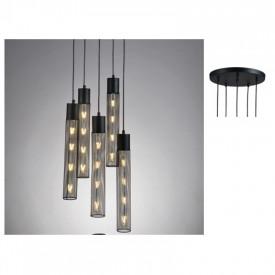 Lampa suspendata OD605P35BK 5xE27