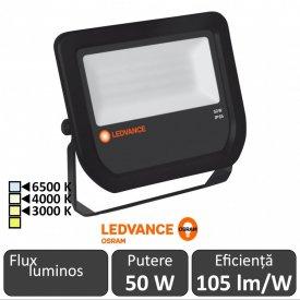 Osram Ledvance - Proiector LED de Exterior 50W IP65 3000/4000/6500K BK