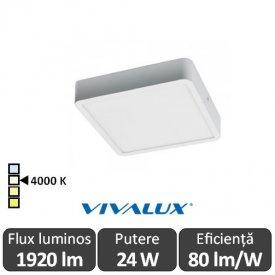Plafonieră LED Vivalux HUGO LED 24W alb-neutru