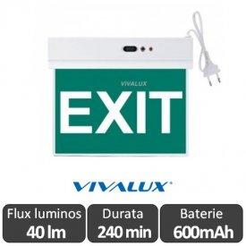 SALVE LED 1.8W - Corp de iluminat de urgenta cu LED, autonomie 240 min