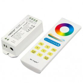 Set MiBoxer RGB Dimmer RF și telecomandă Touch, 15A, 12-24V