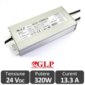 Sursa alimentare GLP 320W 24V IP67