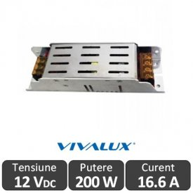 Sursa alimentare LED 200W 12V-16.6A IP20