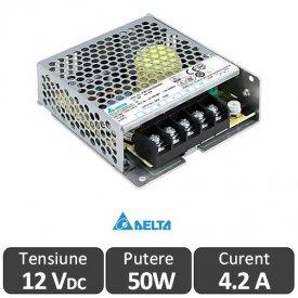 Sursa alimentare LED Delta Electronics 50W 12V 4,2A