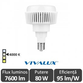 Vivalux AJAX LED 80W E40 4000K ( Alb-Neutru )