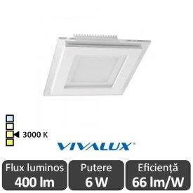 Vivalux KARE LED 6W 3000K ( Alb-Cald )