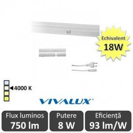 Vivalux Tub SPICA LED  8W T5 880mm 4000K alb-neutru