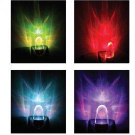 Aca Lighting Lampă de veghe cu senzor RGB 0.6W