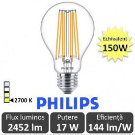 Bec led Filament 150W alb-cald 2700K