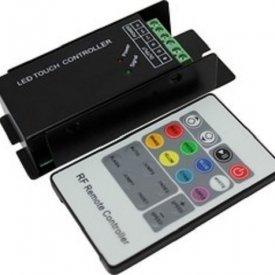 Controler RGB RF, 3x6A, 12-24V