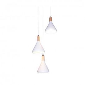 Lampa suspendata GN283PWH 3xE14