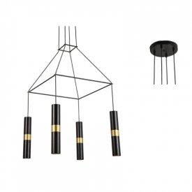 Lampa suspendata HM854P56BK 4xGu10