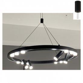 Lampa suspendata JNBP48LED65BK 48W