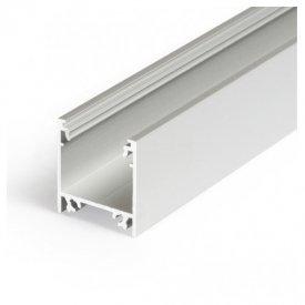 Profil LED aparent LINEA 20, aluminiu anodizat, lungime 2m