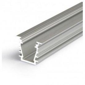 Profil LED încastrat DEEP 10, aluminiu anodizat, lungime 2m