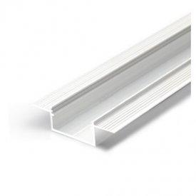 Profil LED încastrat VARIO 30-04, alb, lungime 2m