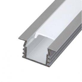 Profil LED tip A206, pentru montaj incastrat, lungime 2m