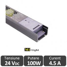 Sursă 100W 24V și Controler Smart 5 în 1 MiLight WIFI