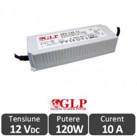 Sursa alimentare GLP LED 120W 12V IP67