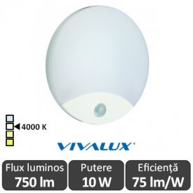 Vivalux LIMA Led 10W Alb  IP44 4000K Alb-Neutru