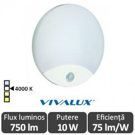 Vivalux LIMA Led 10W Alb IP44 4000K Alb-Neutru