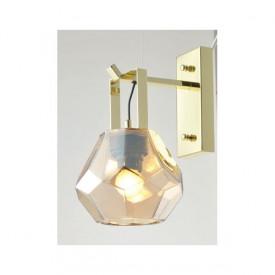 CORP ILUMINAT ACA LIGHTING V371481WA METAL AURIU LUCIOS AMBRA STiCLA E27