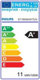 Bec LED Philips - CorePro LED bulb 10,5W A60 230V E27 alb-cald