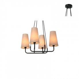 Lampa suspendata HL35424P59BG 4xE14
