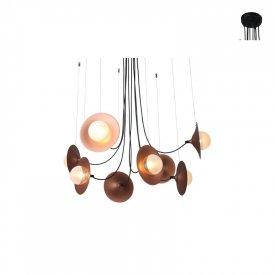 Lampa suspendata HL4308P81BC 8xG9