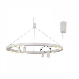 Lampa suspendata JNBP48LED65WH 48W