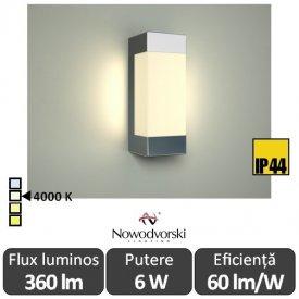 Nowodvorski FRASER LED 6W IP44 alb-neutru