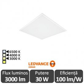 OSRAM Ledvance Panou Led 30W Alb 3000/4000/6500 K