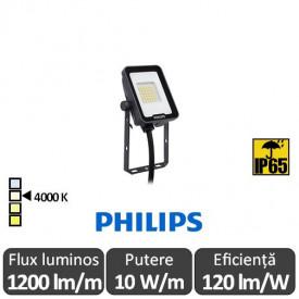 Philips-Proiector LED BVP164 10W alb-neutru