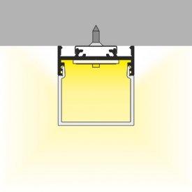Profil LED aparent VARIO 30-01, negru, lungime 2m