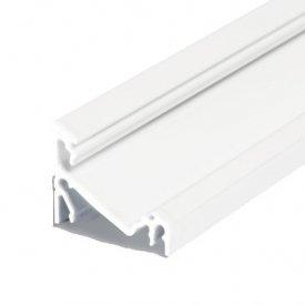 Profil LED de colț CORNER 27, alb, lungime 2m