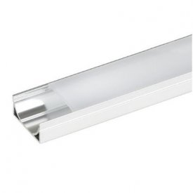 Profil LED lat tip A211, pentru montaj aparent, lungime 2m