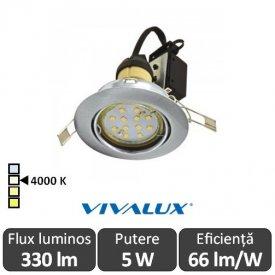 Vivalux ARLO LED 5W GU10 4000K ( Alb-Neutru )