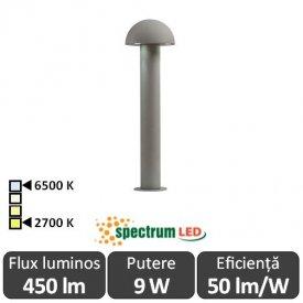 Spectrum Aquatique 9W IP44 2700-6500K 0.5m Alb-Cald/Alb-Rece