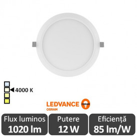 OSRAM Ledvance DN155 12W Slim Downlight Led