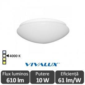 Plafonieră LED Vivalux Chiara LED 10W alb-neutru