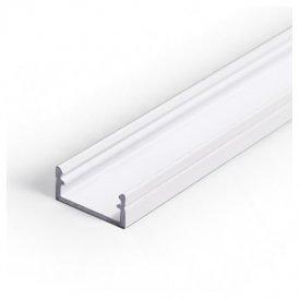 Profil LED aparent BEGTON 12, alb, lungime 2m