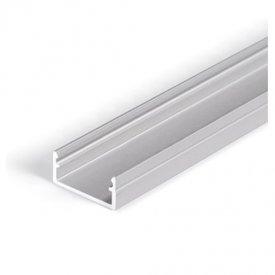 Profil LED aparent BEGTON 12, aluminiu anodizat, lungime 2m
