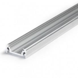 Profil LED aparent SURFACE 10, aluminiu neanodizat, lungime 2m