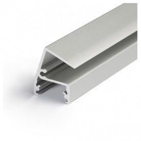 Profil LED pentru sticlă EDGE 10, aluminiu anodizat, lungime 2m