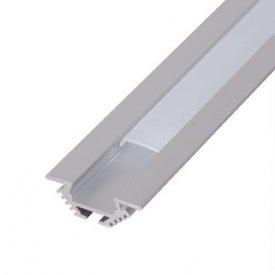 Profil LED tip A202, pentru montaj incastrat, lungime 2m