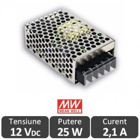 Sursa alimentare LED 25W 12V 2,1A