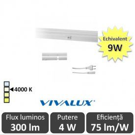 Vivalux Tub SPICA LED  4W T5 880mm 4000K alb-neutru