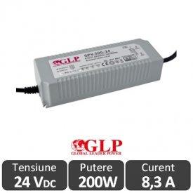 Sursa alimentare GLP LED 200W 24V IP67